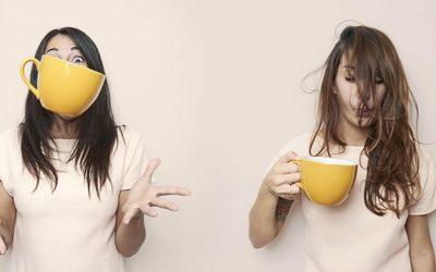 Two girls one mug