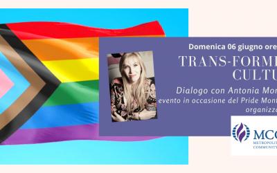 Trans-forming Culture. Dialogo con Antonia Monopoli